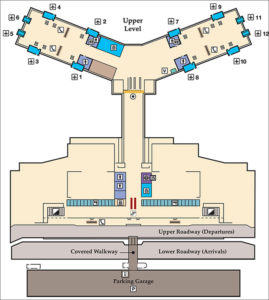 TYS Airport Map Travel News