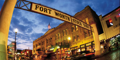 Fort Worth, TX Stock Yard