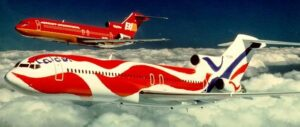 Braniff Calder 727 Travel News