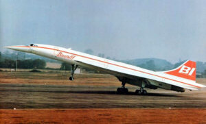 Braniff International Concorde