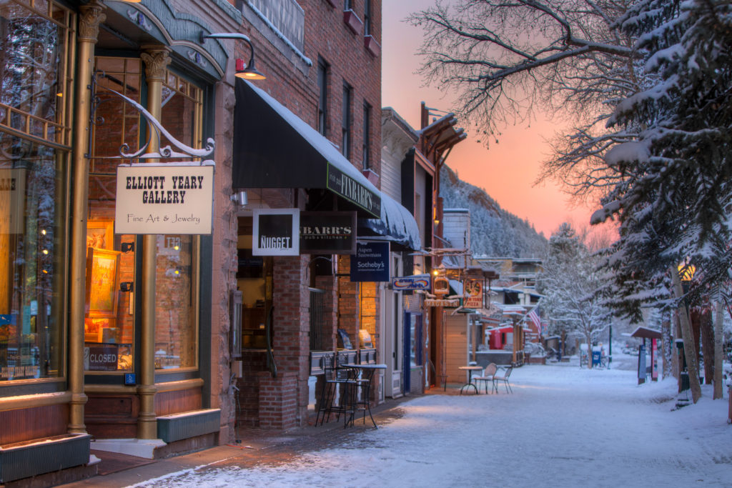 Aspen Colorado Shopping