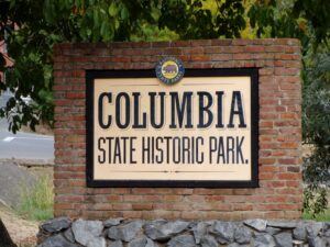Columbia, California Historic Gold Rush Sites