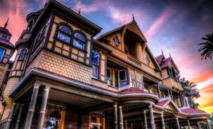San Jose California: Winchester Mystery House