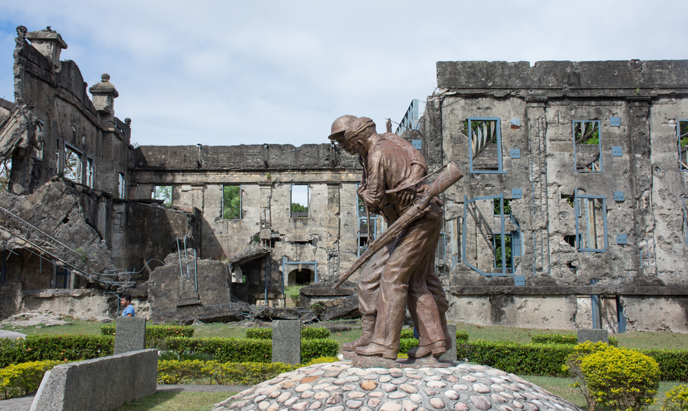 Brothers in Arms Monument at the Pacific War Memorial, Corregidor Island, Philippines